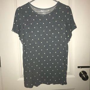 LOFT Polka Dot Shirt